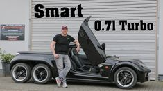 6-Wheeled smart roadster Is Confusingly Cool - autoevolution