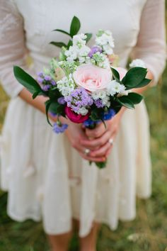 Image by Tara Coonan Wedding Photography - A Fun And Rustic Wildflower Wedding With A Minna Wedding Dress And Headdress With The Wedding Ceremony At Orleans House Gallery In London And The Reception At The Marlborough Pub In Richmond Photographed By Tara Coonan