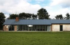 A ruined 19th-century stable block serves as the basis for David Kohn's Stable Acre dwelling