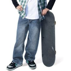 Signature by Levi Strauss & Co. - Husky Boys' Loose Fit Jeans