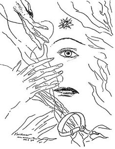 Man Ray / Paul Eluard - Les Mains libres - 1937 - Le dessin « Les mains libres»