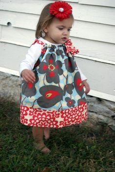 I love pillow-case dresses!