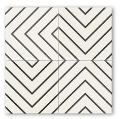 Clé tile is the online source for solid, patterned or shaped concrete tiles. our collection of cement tiles are perfect for floor, wall, fireplace, bathroom or kitchen. Artistic Tile, Black And White Tiles, Black And White Backsplash, Black White, Concrete Tiles, Bathroom Flooring, Bathroom Cladding, Basement Bathroom, Tile Design