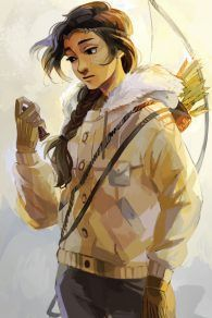 The official art of Bianca di Angelo! It's dam awesome, isn't it!? <3