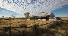Abandoned woolshed at Widnerpool Creek,  Longreach, QLD. Photo Credit: Andrew Chapman for Australian Geographic