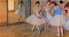 Edgar Degas a leading member of the impressionist movement was famous for his pastel series of Ballerinas #impressionist #impressionism Famous Impressionist Paintings, Degas Paintings, Degas Drawings, Ballet Drawings, Degas Dancers, Post Impressionism, Edgar Degas, Classical Art, Famous Artists
