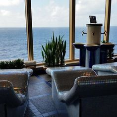 Holland America: A #spa with a view! #atsea #cruiselife (Photo: @ljtinney)