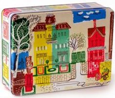 Fab tins based on 1950's fabrics.