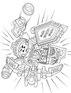 Nexo Knights Malvorlagen 01