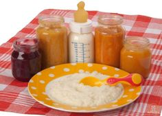 Прикорм для малышей