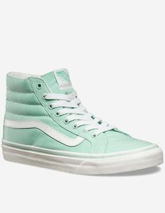 Vans - W' SK8-Hi Slim Schuh gossamer green