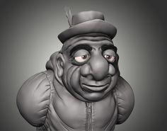 Maybe Wrinkled - Sculpt 3D, Ricardo Roduit on ArtStation at https://www.artstation.com/artwork/wy5NY