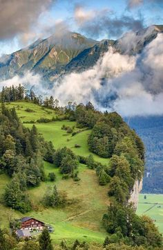 In Meiringen, Switzerland.