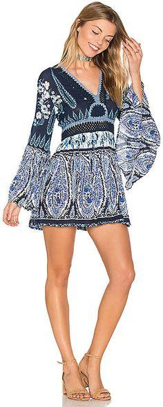 457dcd482791cd Shop for Raga Luisa Long Sleeve Tunic in Navy at REVOLVE.