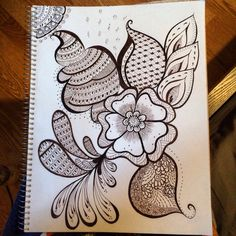 Henna inspired !!