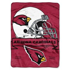 Arizona Cardinals Nfl Royal Plush Raschel (prestige Series)