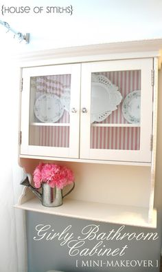 bathroom cabinet idea