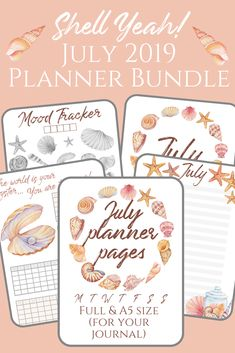 Use these July 2019 Bullet Journal layouts in your Bujo - download the PDF, print them out, stick them in your A5 journal! Monthly log, habit tracker, mood tracker and July 2019 cover page! Bullet Journal Wish List, Bullet Journal Spread, Bullet Journal Layout, Planner Inserts, Planner Pages, Printable Planner, Printables, Pdf Calendar, A5