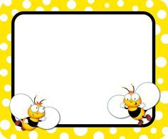 Buzz–Worthy Bees Name Tags Carson-Dellosa Page Borders, Borders And Frames, Spelling Bee, Bee Cards, Quilt Labels, Frame Clipart, Name Tags, Classroom Themes, Book Format