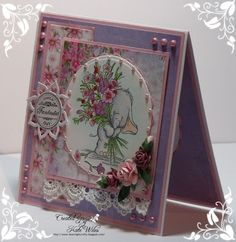 Bella with Posy New Release by Wild Rose Studio