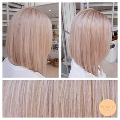 Pink ice (Rose Gold Hair Blonde)