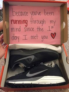 Youve been running through my mind since I met you - sneakers gift More
