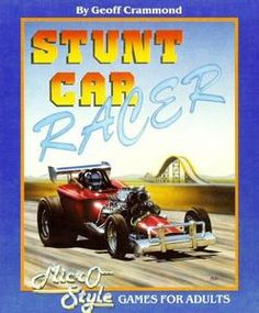 Stunt Car Racer - Atari ST - 1989