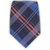 Totally Tartan Wool - Serene/Navy/Dusty Rose (Bow Ties) | Ties, Bow Ties, and Pocket Squares | The Tie Bar