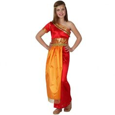 Disfraz hindu niña