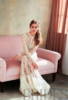 Olivia Palermo for Brides Magazine.