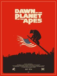 APES REVOLUTION: IL PIANETA DELLE SCIMMIE Alternative Poster