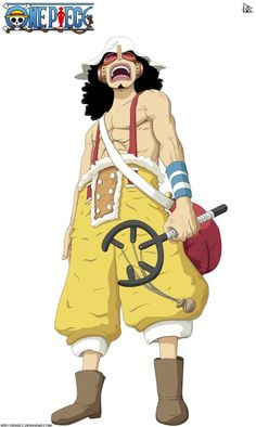 Usopp from the One Piece Anime Manga Anime One Piece, Manga Love, Marine Officer, One Piece Chapter, Best Anime Shows, One Piece Images, One Piece Luffy, Iconic Characters, Pirates