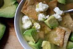 Green Tortilla Soup (Verde)