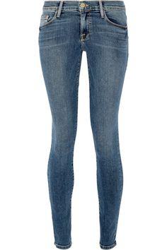FRAME Le Skinny De Jeanne Mid-Rise Jeans. #frame #cloth #jeans