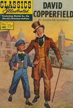 Classics Illustrated #48 - David Copperfield (Issue)