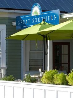 Great Southern one of our favorite restaurants... Seaside, FL....