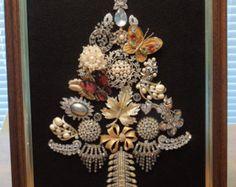 Jewelry Art Floral Art Basket of Flowers by Angieswonderfulgems