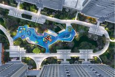 Architecture Site Plan, Landscape Architecture Design, Space Architecture, Kids Outdoor Spaces, Swimming Pool Water, Landscape Elements, Playground Design, Parking Design, Future City