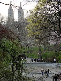 Fim de outono no Central Park.