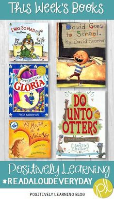 Positively Learning Back to School Book Read Alouds blog