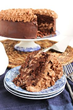 Layer upon layer of chocolatey goodness, this cake is the perfect way to celebrate National Chocolate Cake Day!