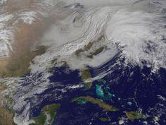 "NASA Satellite Snaps Winter Storm ""Nemo"""
