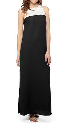 #BlackandWhite #MaxiDress #BBDakota http://www.styleshack.com/boutique-directory/product/1670 #Styleshack #LongDress