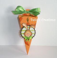 Bettys-creations: Spitztüte mit Vorlage
