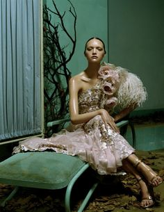 by Steven Meisel for Vogue Italia