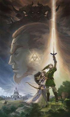 Legend of Zelda Star Wars style
