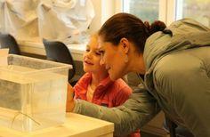 Crown Princess Victoria and Princess Estelle visited the Askö Laboratory