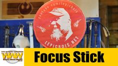 Focus Stick - Flat Pat Challenge - Off the Cuff - Wacky Wood Works.