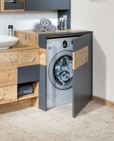 Excellent Free Bathroom Storage washing machine Popular After sensible bathroom storage tips? Bathroom storage will be essential for maintaining your bathro Rustic Bathroom Vanities, Bathroom Furniture, Bathroom Interior, Modern Bathroom, Small Bathroom, Bathroom Ideas, Furniture Vanity, Vanity Bathroom, Diy Bathroom