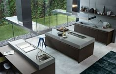 Minimal Kitchen by Varenna Poliform
